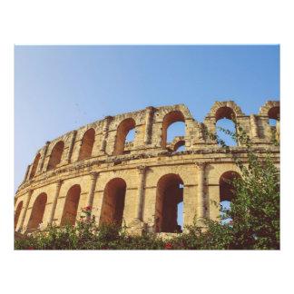 Anfiteatro de Tunísia Panfleto