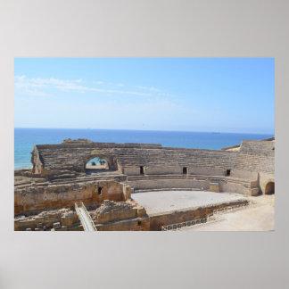Anfiteatro Romano em Tarragona Pôster