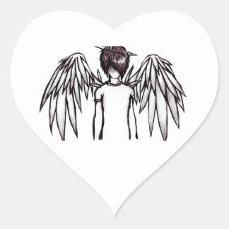 Angel Adesivo Coração