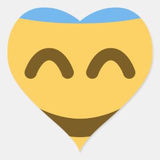Angel Emoji Adesivo Coração