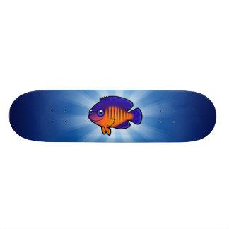 Angelfish 1 dos desenhos animados shape de skate 18,4cm
