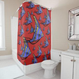 Angelfish #2 cortina para chuveiro