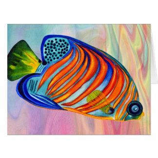Angelfish real todo o cartão das ocasiões