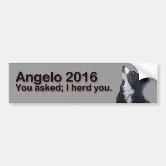 Angelo 2016 adesivo para carro