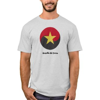 Angola Air Force roundel/emblem amazing t-shirt