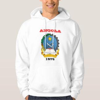 ANGOLA - camisola com brasão Moleton Com Capuz