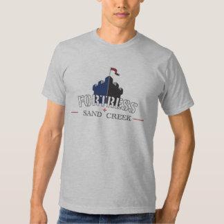 Angra da areia da fortaleza t-shirts