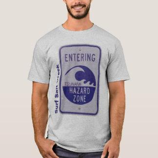 Angra de sal do surf camiseta