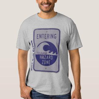 Angra de sal do surf tshirt