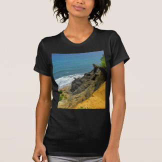 Angra do milho da ilha de bloco tshirts