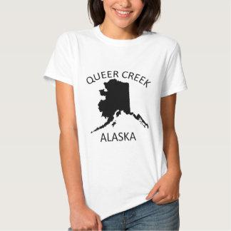 Angra estranha Alaska T-shirts