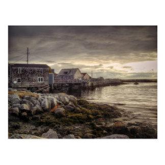 Angra Nova Escócia Canadá de Peggys Cartão Postal
