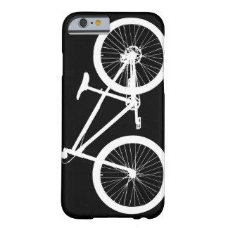 Angra preto e branco do caso do iPhone 6 da Capa Barely There Para iPhone 6