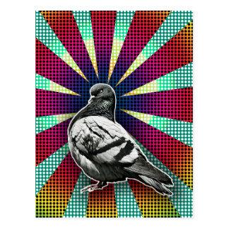 Angry Pigeon Postcard Cartão Postal