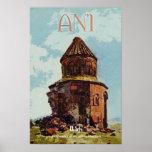 Ani, cidade antiga de Arménia Poster