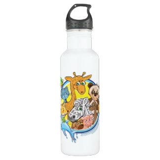 Animais 2 todos junto - minha garrafa da liberdade