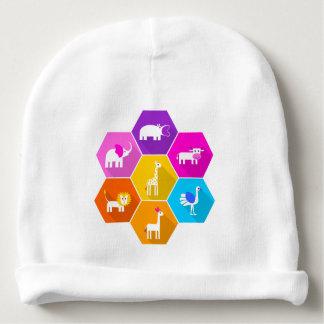 Animais Assorted coloridos bonitos dos desenhos Gorro Para Bebê