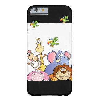 Animais da selva capa barely there para iPhone 6