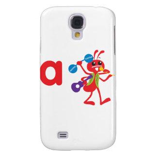 Animais de ABC - formiga de Adam Capas Personalizadas Samsung Galaxy S4