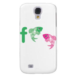 Animais de ABC - peixes Galaxy S4 Case