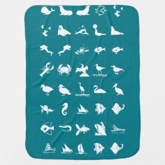 Animais de estimação dos peixes dos animais dos manta de bebe