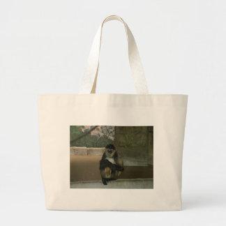 Animais do jardim zoológico bolsas para compras