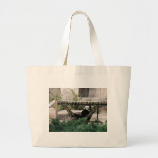 Animais do jardim zoológico bolsa de lona