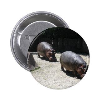 Animais do jardim zoológico bóton redondo 5.08cm