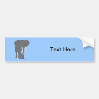 Animais dos mamíferos do Elephantidae do Pachyderm Adesivo Para Carro