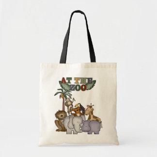 Animais no camiseta e nos presentes do jardim zool bolsa