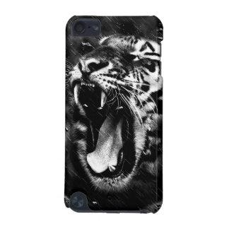 Animais selvagens bonitos pretos & brancos da capa para iPod touch 5G