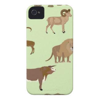 Animais selvagens capinha iPhone 4