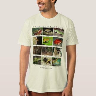 Animais selvagens do t-shirt de Madagascar