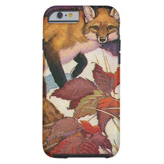 Animais selvagens do vintage, criatura da capa tough para iPhone 6
