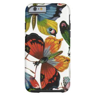Animais selvagens do vintage, insetos, insetos, capa tough para iPhone 6