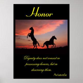 Animal 1 dos posters da honra
