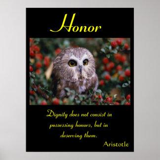 Animal 26 dos posters da honra