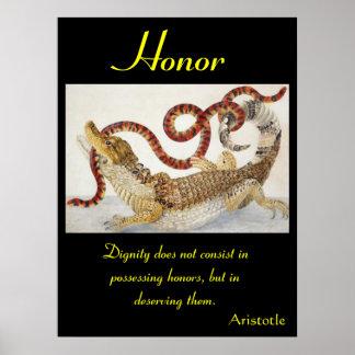 Animal 41 dos posters da honra