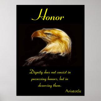 Animal 43 dos posters da honra