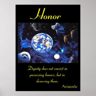 Animal 63 dos posters da honra