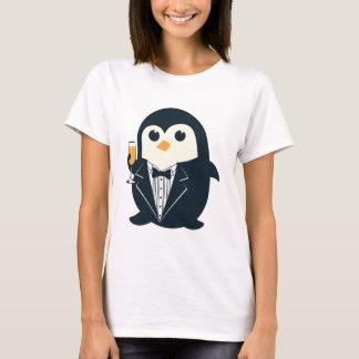 animal bonito do smoking do pinguim adorável camiseta