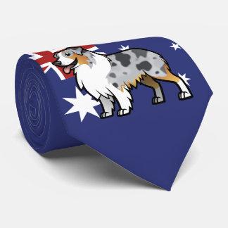 Animal de estimação customizável bonito na gravata