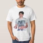 Animal de partido básico tshirts