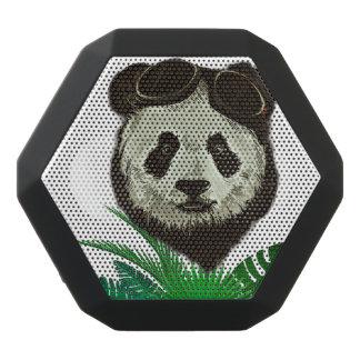 Animal do urso de panda do hipster caixa de som preta com bluetooth