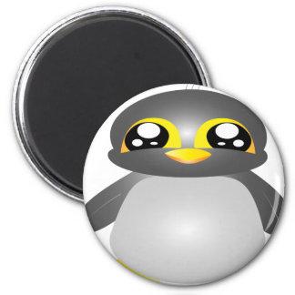 animal engraçado bonito do pinguim imã