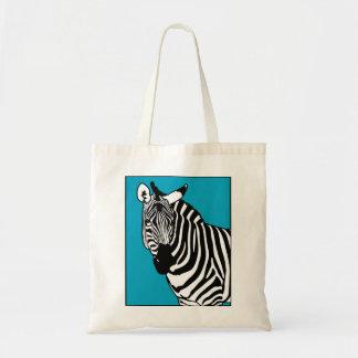 Animal legal da zebra bolsa tote