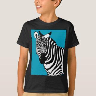 Animal legal da zebra camiseta