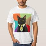 Animal Meme do conselho do gato do negócio Camiseta