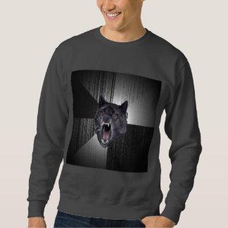 Animal Meme do conselho do lobo da demência Suéter