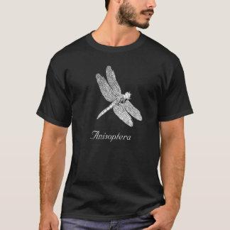Anisoptera, desenho da libélula camiseta